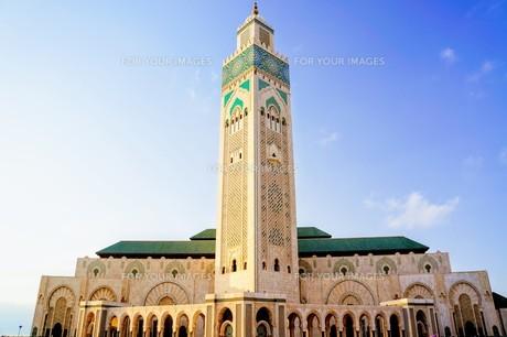 ハッサン2世モスクの写真素材 [FYI01186203]
