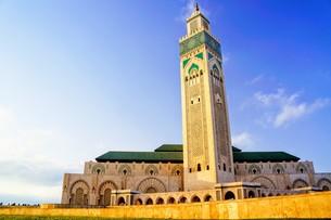 ハッサン2世モスクの写真素材 [FYI01186205]