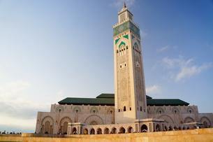 ハッサン2世モスクの写真素材 [FYI01186209]
