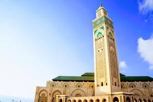 ハッサン2世モスクの写真素材 [FYI01186214]