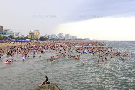 サムソンビーチ、タインホア、ベトナムの写真素材 [FYI01186267]