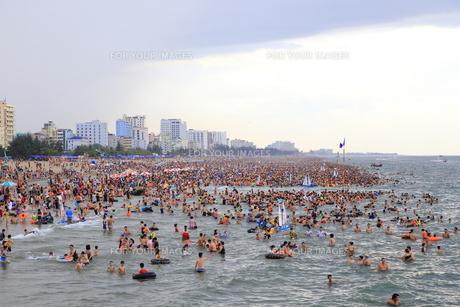 サムソンビーチ、タインホア、ベトナムの写真素材 [FYI01186268]