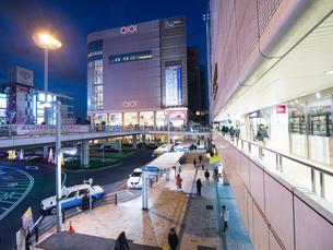 東京,北千住駅前の写真素材 [FYI01186273]