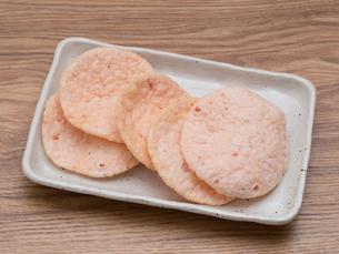 エビ煎餅の写真素材 [FYI01186947]
