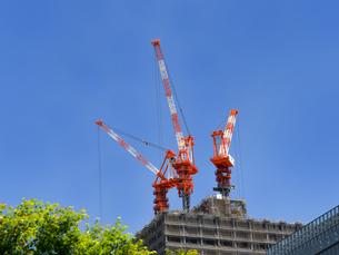 高層ビルの建設の写真素材 [FYI01186998]