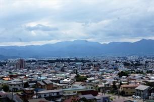 会津若松の町並みの写真素材 [FYI01187107]
