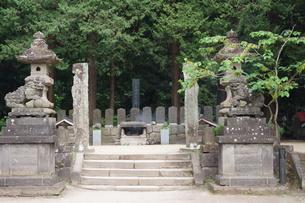 会津若松の町並み(会津飯盛山)の写真素材 [FYI01187108]