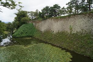 会津若松の町並み(会津鶴ヶ城城址)の写真素材 [FYI01187115]