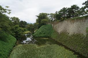 会津若松の町並み(会津鶴ヶ城城址)の写真素材 [FYI01187116]