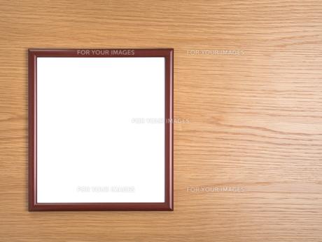 色紙額の写真素材 [FYI01187594]