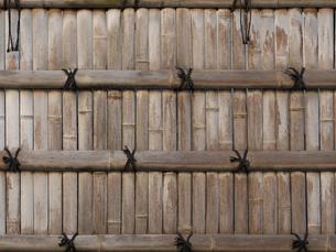 竹塀の写真素材 [FYI01187907]