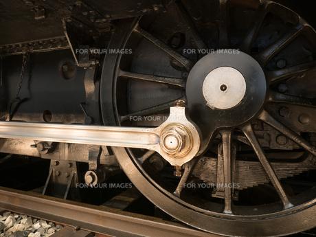 機関車の車輪の写真素材 [FYI01187914]