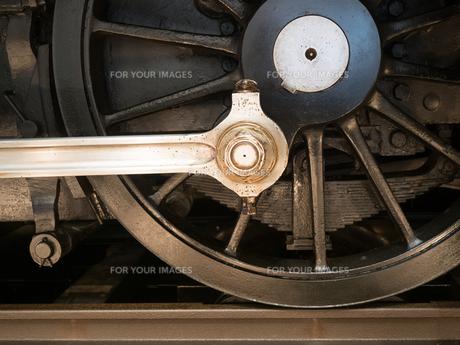 機関車の車輪の写真素材 [FYI01187915]
