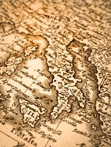 古い世界地図 イタリアの写真素材 [FYI01188111]