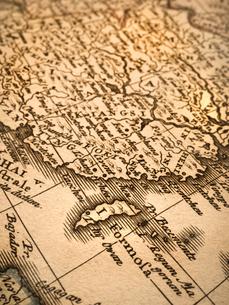 古い世界地図 中国と台湾の写真素材 [FYI01188117]