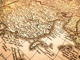 古い世界地図 中国と台湾の写真素材 [FYI01188120]