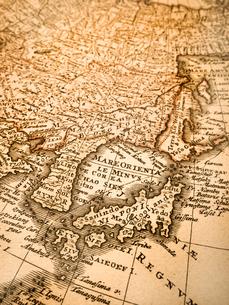 古い世界地図 日本の写真素材 [FYI01188131]