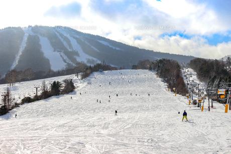 アッピ高原スキー場の写真素材 [FYI01188205]