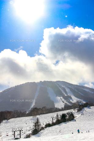 アッピ高原スキー場の写真素材 [FYI01188206]