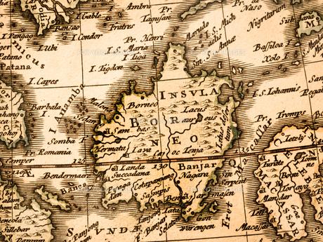 古い世界地図 東南アジアの写真素材 [FYI01188352]