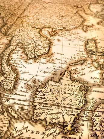 古い世界地図 東南アジアの写真素材 [FYI01188353]