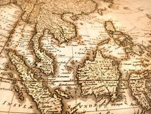古い世界地図 東南アジアの写真素材 [FYI01188354]