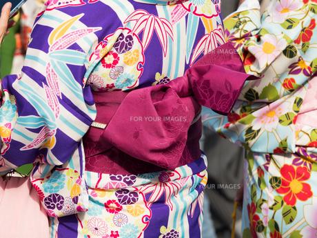 着物姿の女性の写真素材 [FYI01188408]