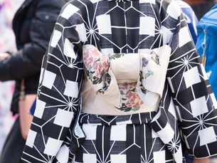 着物姿の女性の写真素材 [FYI01188411]