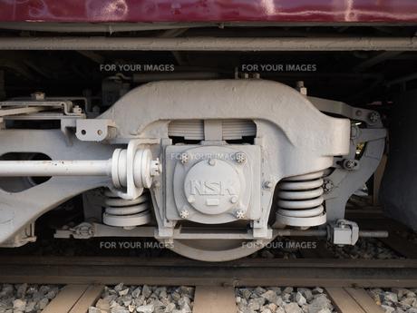 電車の車輪の写真素材 [FYI01189029]