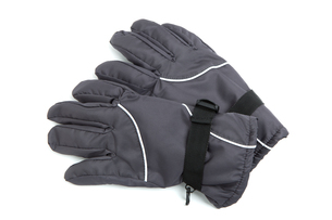 防寒用の手袋の写真素材 [FYI01189041]