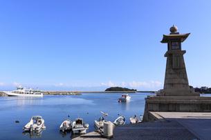 鞆の浦の風景の写真素材 [FYI01189283]