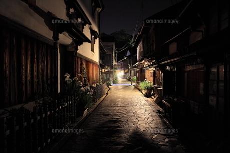 鞆の浦夜景の写真素材 [FYI01189286]
