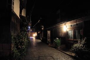 鞆の浦夜景の写真素材 [FYI01189287]