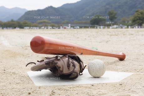 草野球イメージの写真素材 [FYI01189295]