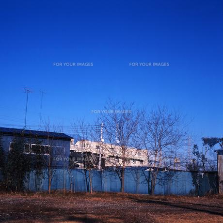青い景色の写真素材 [FYI01189450]