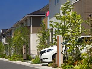 新興住宅街の写真素材 [FYI01189770]