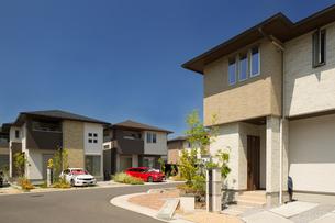 新興住宅街の写真素材 [FYI01190044]