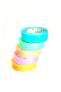 カラフルなマスキングテープの写真素材 [FYI01190142]