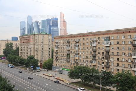 モスクワ旧市街と新興地区の写真素材 [FYI01190214]