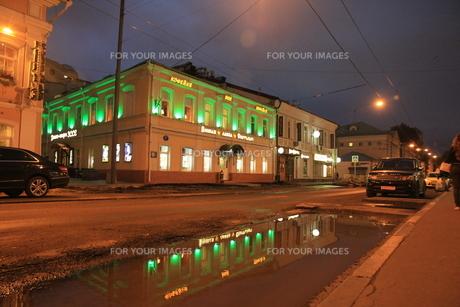 モスクワのウーリシャ・ピャトニツカヤ通りの店の写真素材 [FYI01190215]