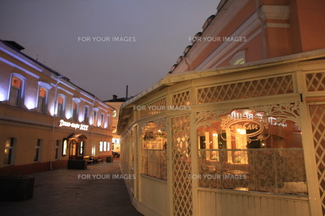 モスクワのウーリシャ・ピャトニツカヤ通りの写真素材 [FYI01190219]