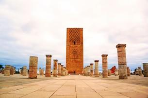 ハッサンの塔の写真素材 [FYI01190344]