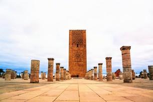 ハッサンの塔の写真素材 [FYI01190346]