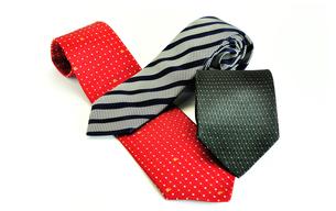 3本のネクタイの写真素材 [FYI01190531]
