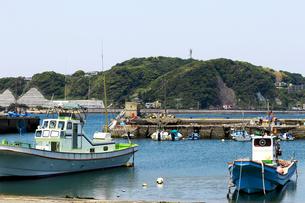 漁港の風景の写真素材 [FYI01190697]
