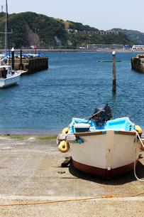 漁港の風景の写真素材 [FYI01190698]