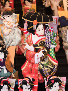 浅草 羽子板市の写真素材 [FYI01190711]