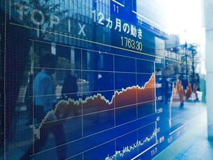 株価イメージの写真素材 [FYI01190889]