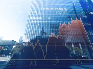 株価イメージの写真素材 [FYI01190891]
