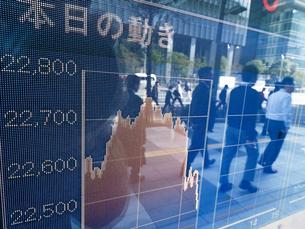 株価イメージの写真素材 [FYI01190892]